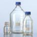Glass Media Bottles, 20 Liter, Borosilicate Glass, GL-45, Blue Cap