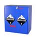 "Non-Metallic Wood Acid Cabinet, 30"" x 32"" Jumbo Stacking Base Cabinet"