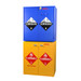 SciMatCo SC8079 Jumbo Stacking Flammables Cabinet with Self-Closing Doors