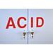 "SciMatCo SC5060 60"" Tall Polypropylene Acid Cabinet"