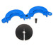 """Drum Lock Safety Clamp for 3/8"""" Drum Probe, Choose Color"""