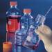 Pyrex® Square Glass Media Storage Bottles, 1 Liter GL-45, case/10