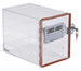 Locking Desiccator Cabinet with Hygrometer Small