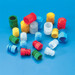 LDPE Stoppers For 11, 12 or 13mm Test Tubes, case/1000