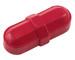 "Octagonal Stir Bars, Red 5/16 x 7/8"", pack/12"