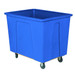 Blue Plastic Box Truck 20 Bushels, 600 lb Capacity