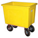 Yellow Plastic Box Truck 16 Bushels, 600 Lb Capacity