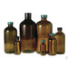 32oz Amber Glass Boston Round, 33-400 PP Pulp/Vinyl Lined Caps, case/30