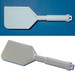 "Lab Spatula Scraper, Rigid Nylon, 13-1/2"" x 4-1/2"" x 7"""