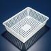 "Draining Basket, Polypropylene, 16"" x 12"" x 4"", case/4"