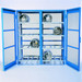 Gas Bottle & Cylinder Storage Cage, Double Horizontal, 16 Cylinder
