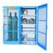 Gas Bottle & Cylinder Storage Cage, 8 Horizontal or 5-10 Verticals