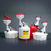 """8"""" ECO Funnel® System, Justrite® 2 Gal Safety Can, Secondary Container"""