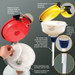 """8"""" ECO Funnel® with 70mm SW cap adapter (6TPI buttress)"""
