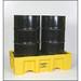 Eagle® 2-Drum Tall Spill Pallet, 66 gallon Sump