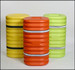 """12"""" Column Protector, Orange with Reflective Bands"""