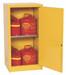Eagle® Flammable Cabinet, 16 gallon Cabinet 1 Door, Manual close