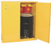 Eagle® Vertical Drum Cabinet for two 55 gallon Drums with 2 Doors, Manual close