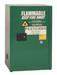 Eagle® Pesticide Safety Storage Cabinet, 12 gallon, 1 Door, Self-Closing