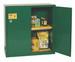 Eagle® Pesticide Safety Storage Cabinet, 30 gallon, 2 Door, Manual Close