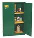 Eagle® Pesticide Safety Storage Cabinet, 45 gallon, 2 Door, Manual Close