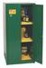 Eagle® Pesticide Safety Storage Cabinet, 60 gallon, 2 Door, Manual Close