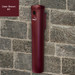 """Deluxe Cigarette Smokers Post, 3.5"""" x 24"""" Wall Mount, Choose Color"""