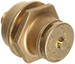 "Justrite® Brass Drum Vent Kit with 3/4"" Reducer"