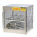 Horizontal Gas Cylinder Storage Locker, Aluminum, 4 Cylinders