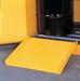 "Justrite® Drum Cabinet Ramp, 24.5"" x 28"" for Drum Cabinets"