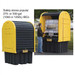 Justrite® Outdoor IBC Storage Shed and Secondary Containment