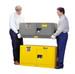 Justrite® Flammable Piggyback Cabinet, 12 gallon Gray manual
