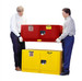 Justrite® Flammable Piggyback Cabinet, 12 gal Red self-closing