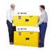 Justrite® Flammable Piggyback Cabinet, 17 gallon self-closing
