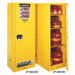 Justrite® Flammable Cabinet, 54 gal Deep Slimline, Self-Closing