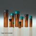 Amber Glass Sample Vials, 20mL, 24-400 neck finish, No Caps, case/144