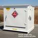 Hazmat Storage Building, Non-combustible LK04, 4-Drum Outdoor Locker