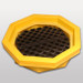 Drum Spill Tray with optional grate