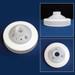 Nalgene® 100mm Carboy Cap, 10-Port, PTFE Waste Manifold Kit