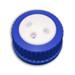 3-Port Cap for Glass Bottle, GL-45, Complete Kit