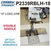 Consew Premier P2339RBLH-18 Double Needle Long Arm Machine With Table and Servo Motor