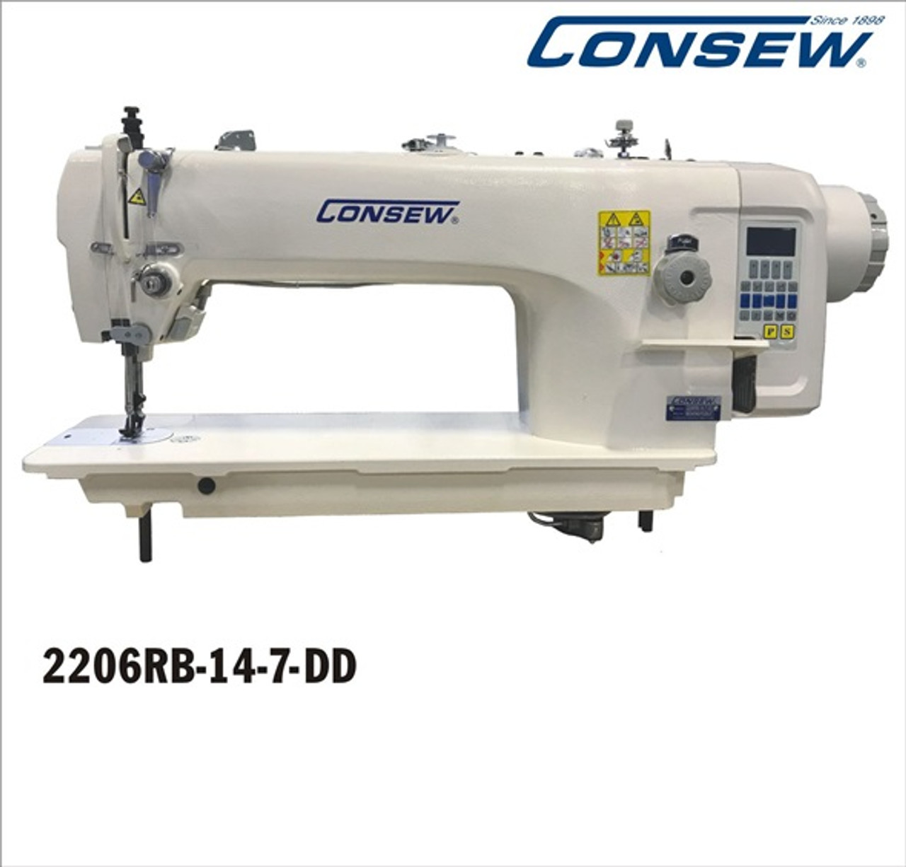 Consew 2206RB-14-7-DD  Fully Automatic Direct Drive, Walking Foot Machine