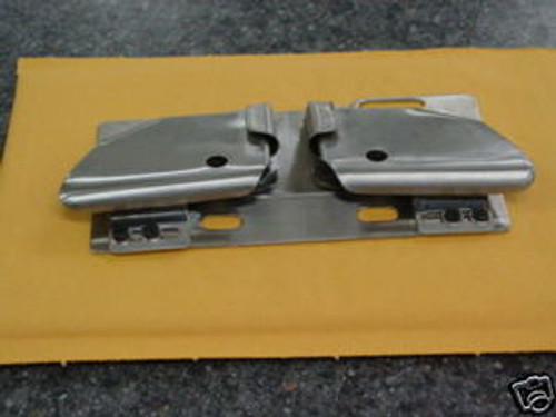 Zipper Attachment & Folder For Double Needle Machines