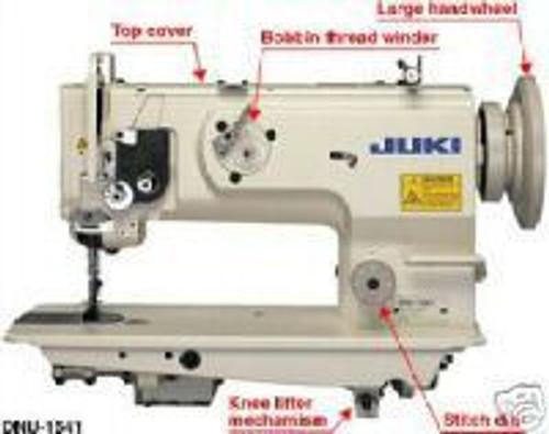 Juki DNU 1541 Industrial Walking Foot Machine Leather Sevo/Stand