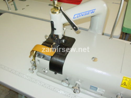 Consew DCS-S4  Industrial Skiving Machine Complete w/Servo Stand
