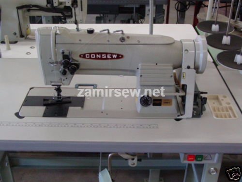 CONSEW 339RB-4      2 Needle Walking Foot Sewing Machine