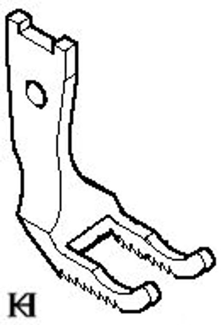 Pfaff 145 / 545 / 1245 Double Toe Foot Set