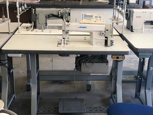 Juki DDL-5550-7 Used Single Needle Automatic Sewing Machine