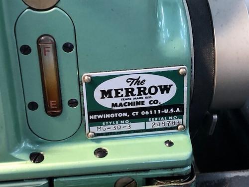 Merrow MG-3Q-3  Hi-Speed Shell Stitch Sewing Machine