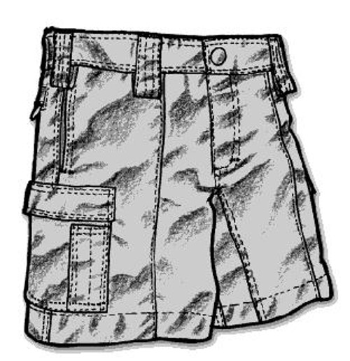 Mocean Cargo Bike Shorts